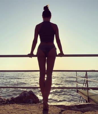 Nazan Eckes heiß Kehrseite Urlaub Bilder Instagram
