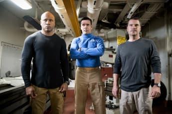 Navy CIS LA JAG crossover Harm Sam Hanna Callen