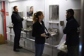 """Sean Murray (""""Tim McGee""""), Emily Wickersham (""""Ellie Bishop"""") und Wilmer Valderrama (""""Nick Torres"""") sind auch bei der 17. Staffel von NCIS dabei"""