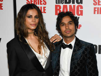 The big bang theory Kunal Nayyar Frau Neha Kapur