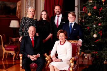Norwegische Königsfamilie Weihnachten