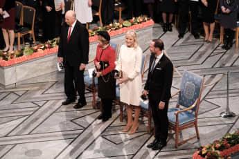 norwegische royals nobelpreis