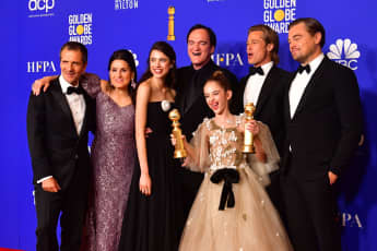 Once upon a time in hollywood golden globes 2020 award