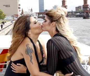 Patricia Blanco und Micaela Schäfer knutschen sich ab