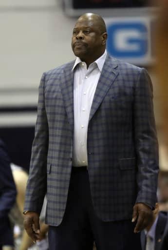 Patrick Ewing bei einem Basketballspiel in Washington 2020