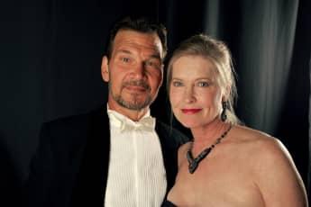 Patrick Swayze und Lisa Niemi