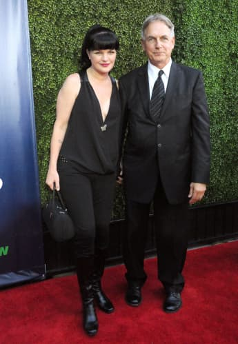 pauley perrette mark harmon