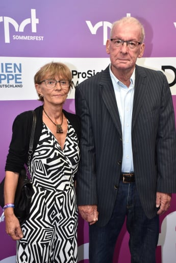 Peter Zwegat und seine Partnerin Liane 2017 in Berlin
