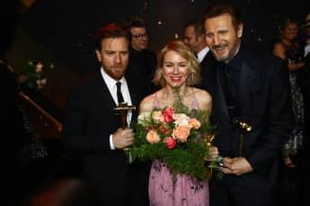 Ewan McGregor, Naomi Watts und Liam Neeson gehören zu den Preisträgern der Goldenen Kamera 2018