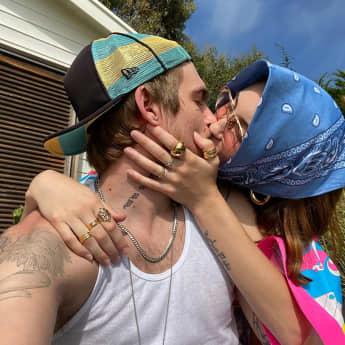 Presley Gerber und Sydney Brooke auf Instagram