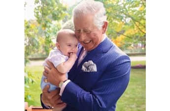 Prince Charles and Prince Louis portrait Sunday Times Style Magazine