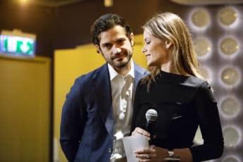 Prinz Carl Philip und Prinzessin Sofia corona