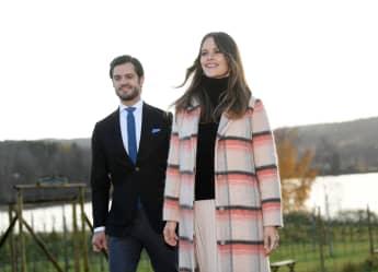 Prinz Carl Philip und Prinzessin Sofia von Schweden im Oktober 2020