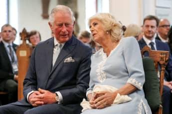 Prinz Charles Herzogin Camilla Leipzig Thomaskirche Deutschlandbesuch