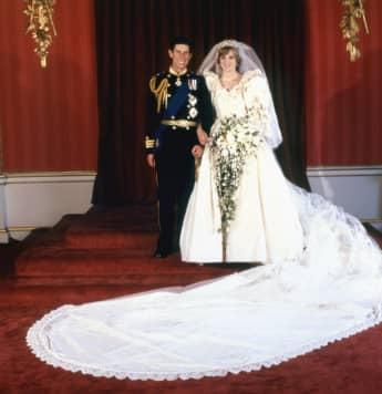 Lady Diana Hochzeitskleid Brautkleid Prinz Charles