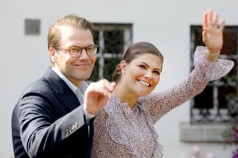Prinzessin Victoria und Prinz Daniel reisen nach Estland