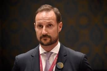 Prinz Haakon Mette Marit krank