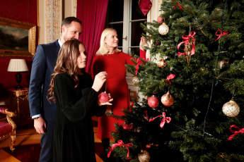 norwegische Royals Weihnachten Prinz Haakon Prinzessin Mette-Marit Prinzessin Ingrid Alexandra