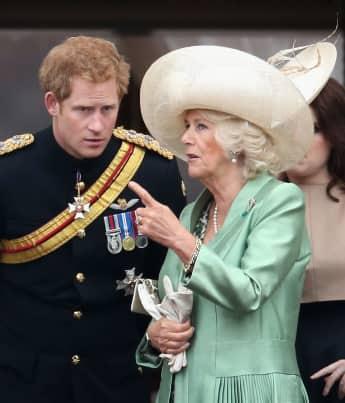 Prinz Harry und Herzogin Camilla
