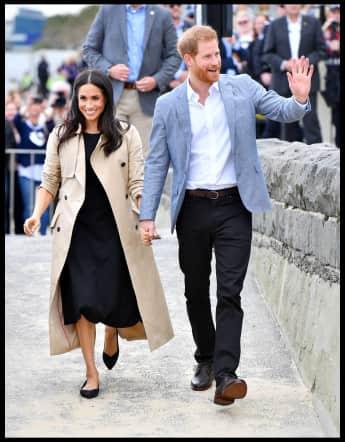 Prinz Harry und Herzogin Meghan Australien