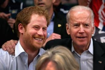 Prinz Harry und Joe Biden