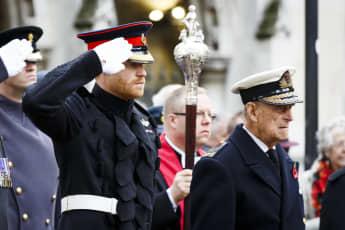 Prinz Harry und Prinz Philip