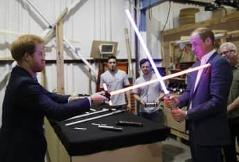 Prinz Harry Prinz William Star Wars