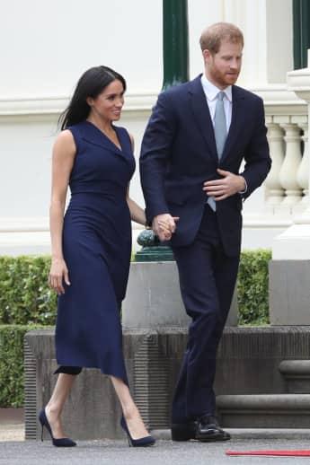 Prinz Harry und Herzogin Meghan bei ihrem Besuch in Melbourne
