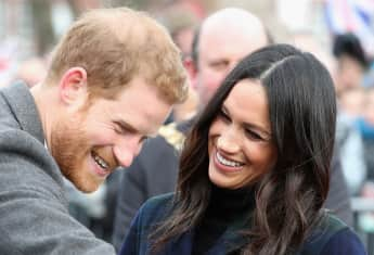 Prince Harry and Duchess Meghan lucky in love