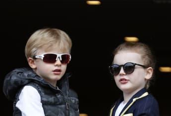 Prinz Jacques und Prinzessin Gabriella von Monaco sind die Mini-Mes ihrer Eltern