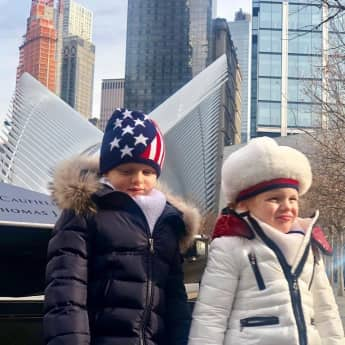 Prinz Jaques und Prinzessin Gabriella in New York City 2019