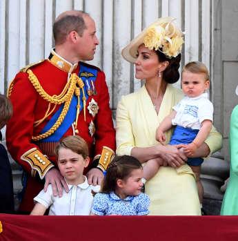 Zuckersüße Royals: Prinz Louis mit seinen Geschwistern