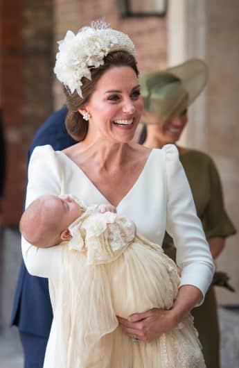 Sohn von Prinz William: Der kleine Prinz Louis wurde am 9. Juli 2018 getauft