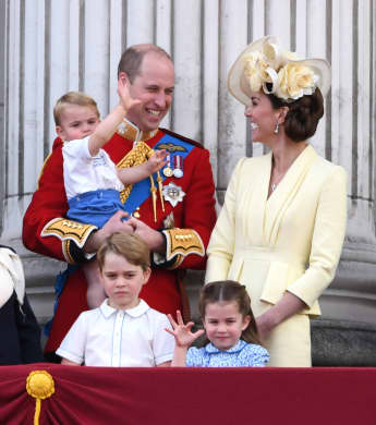"o niedlich war Prinz Louis bei ""Trooping the Colour"""