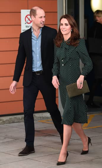 "Prinz William und Herzogin Kate beim ""Evelina London Children's Hospital"" in 2018"