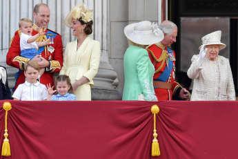 Prinz William Herzogin Kate Charlotte George Louis