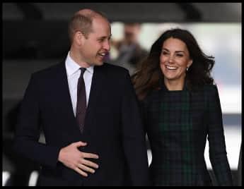Prinz William und Herzogin Kate bei der Eröffnung des Designmuseums V&A Dundee 2019