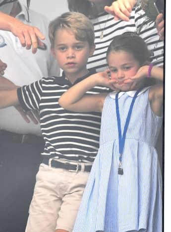 George & Charlotte: Bald sind die Ferien vorbei und der Ernst des Lebens beginnt