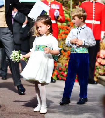 Prinzessin Charlotte und Prinz George sind ein Herz und eine Seele