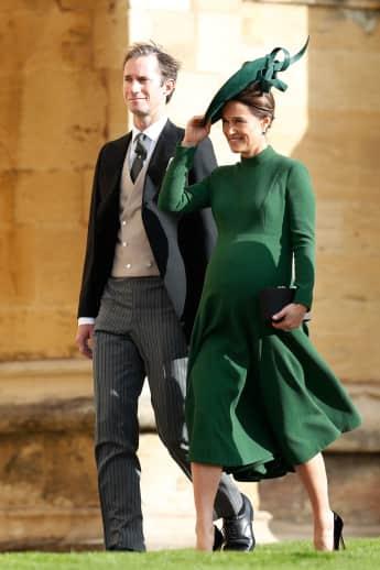 Pippa Middleton bei Prinzessin Eugenies Hochzeit