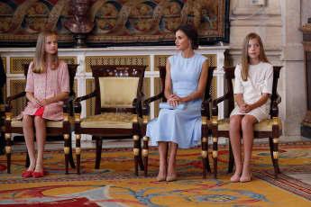 Prinzessin Leonor, Königin Letizia, Prinzessin Sofia