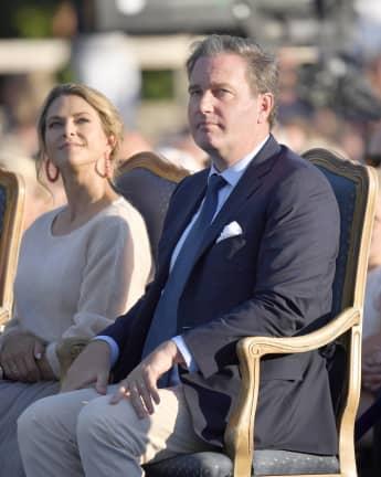 Prinzessin Madeleine und ihr Mann Chris O'Neill am 14. Juli 2019
