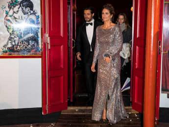 Prinzessin Madeleine bei der Gala im traumhaften Glitzerkleid