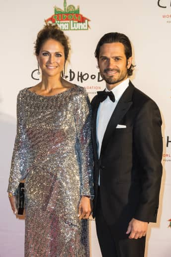 Prinzessin Madeleine Prinz Carl Philip World Childhood Foundation Gala