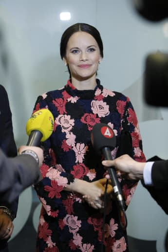 Prinzessin Sofia von Schweden hielt ihre Schwangerschaft Monate lang geheim