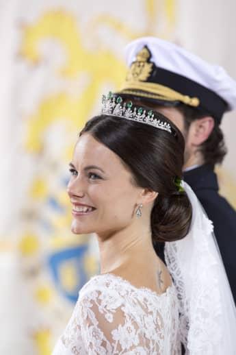 Prinzessin Sofia: An ihrer Hochzeit sah man ihr Sonnen-Tattoo an ihrem Rücken