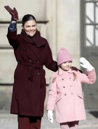 Wie die Mama, so die Tochter: Prinzessin Victoria und Prinzessin Estelle