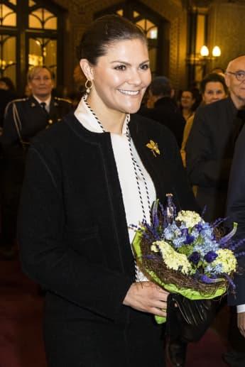Prinzessin Victoria von Schweden feiert am 12. März ihren Namenstag