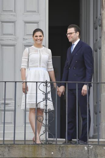 Prinzessin Victoria und Prinz Daniel am schwedischen Nationaltag am 6. Juni 2018