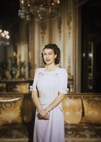 Königin Elisabeth II. im Jahr 1947